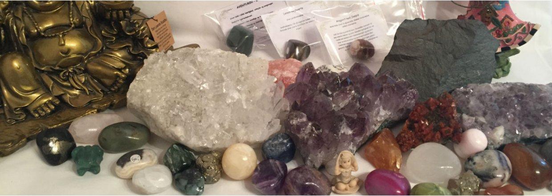 Hop direkte til krystaller og sten<br>