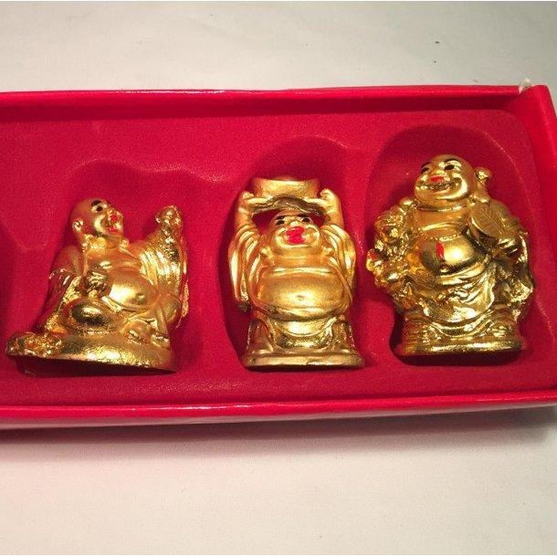 Budha - 6 glade buddha'er Guld
