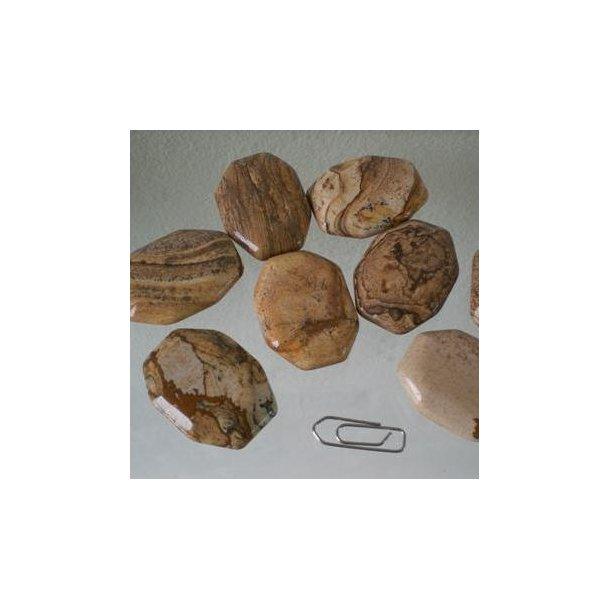 Jaspis Landskabs -  ca. 16 g