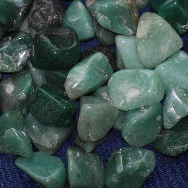 Aventurin Grøn kantet 3-10 gram