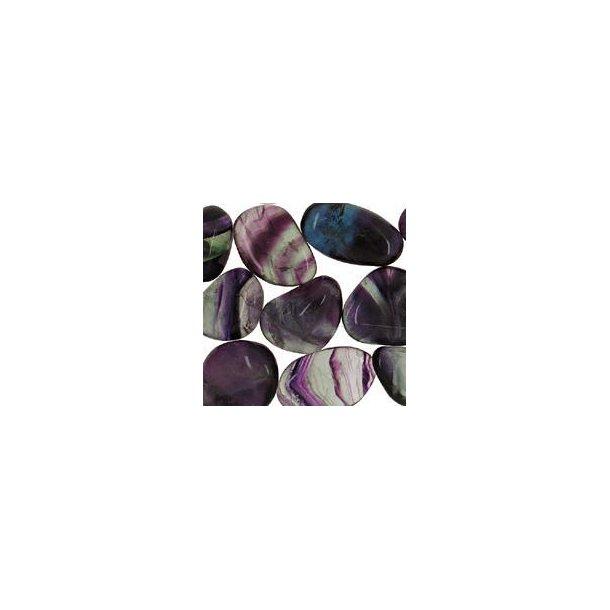 Fluorit regnbue - 10-15 gram