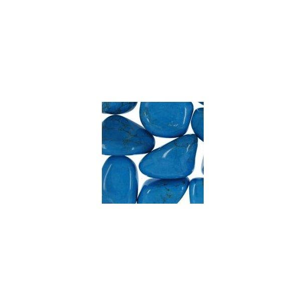 Howlit - Blå indfarvet ca. 2-3 g
