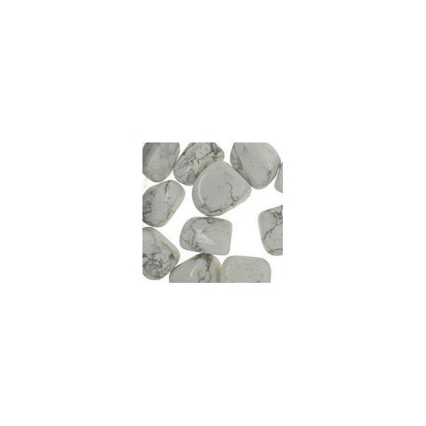 Howlit hvid 8 -15 gram