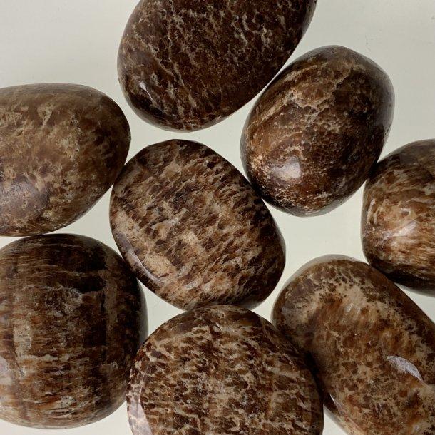 Aragonit Stribet brun