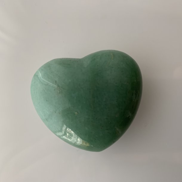 Hjerter store Aventurin Grøn  45 mm, 56 g