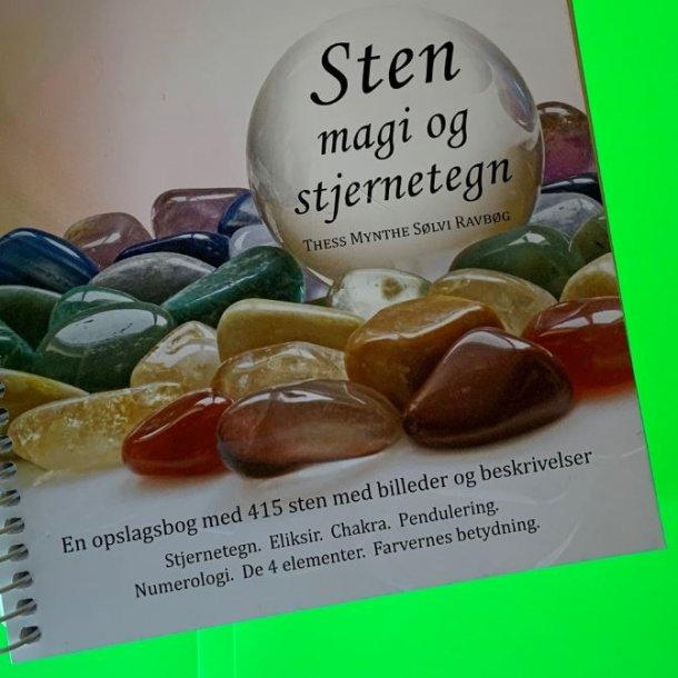 Ny og spændende opslagsbog med 415 sten og krystaller med billeder og beskrivelse.